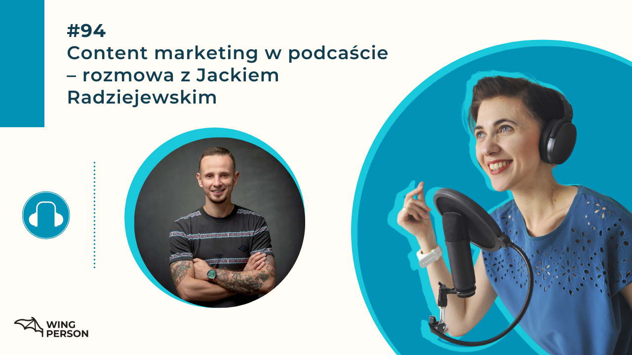content markieting w podcaście wing person